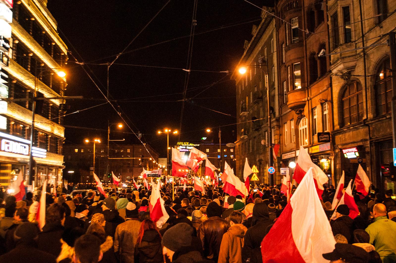 Narodowy Dzień Pamięci Żołnierzy Wyklętych – Marsz Pamięci we Wrocławiu
