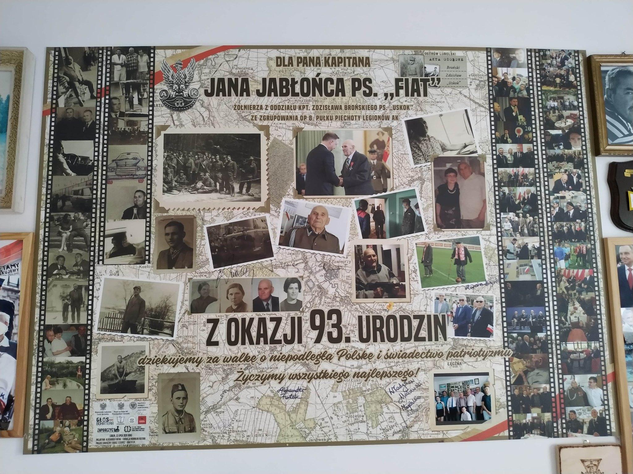 Prezent dla kpt Jana Jabłońca