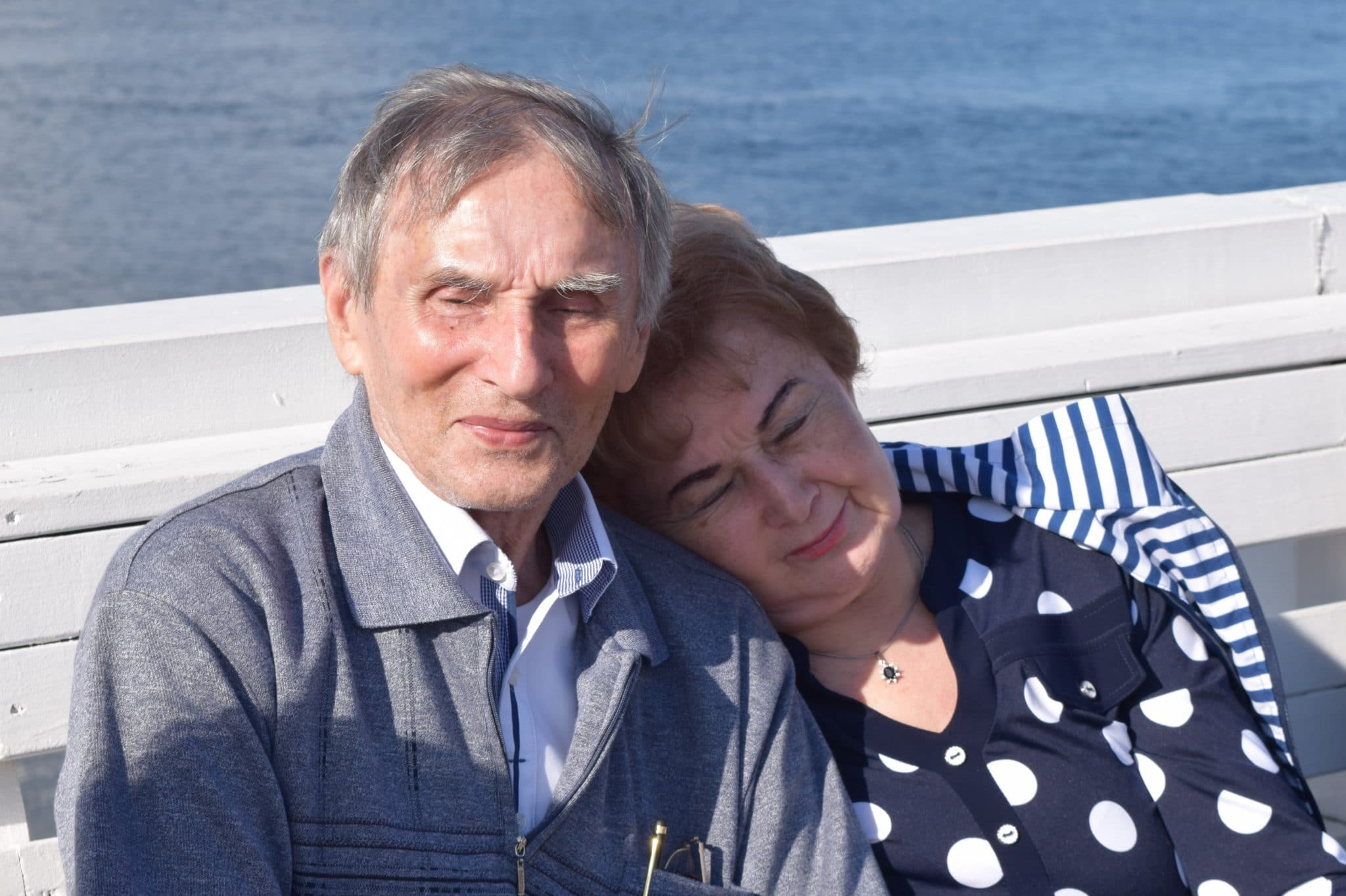 Pani Barbara z ukochanym mężem – Sopot 2017